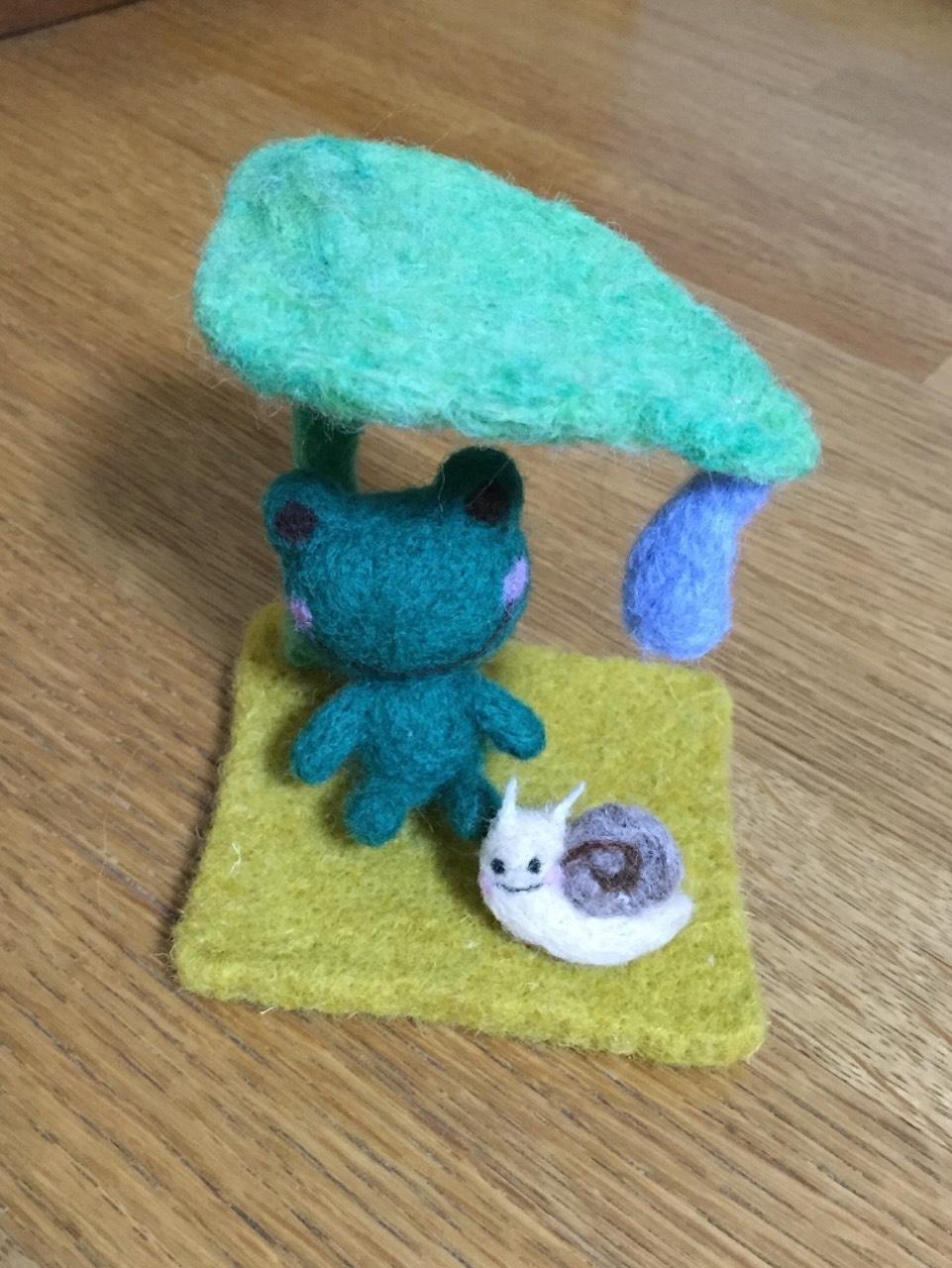 haha handmade 羊毛フエルト作品2