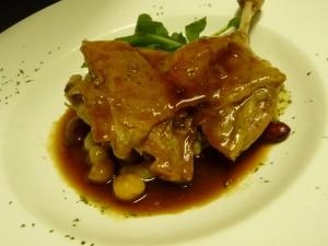 鴨もも肉のコンフィ2012
